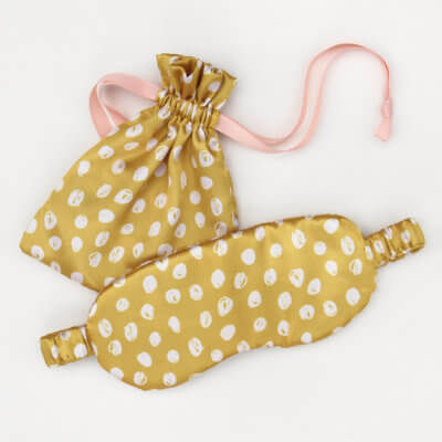 Scribble Spot Eyemask In Pouch