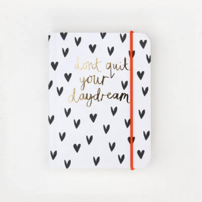 Mini Hearts Small Notebook