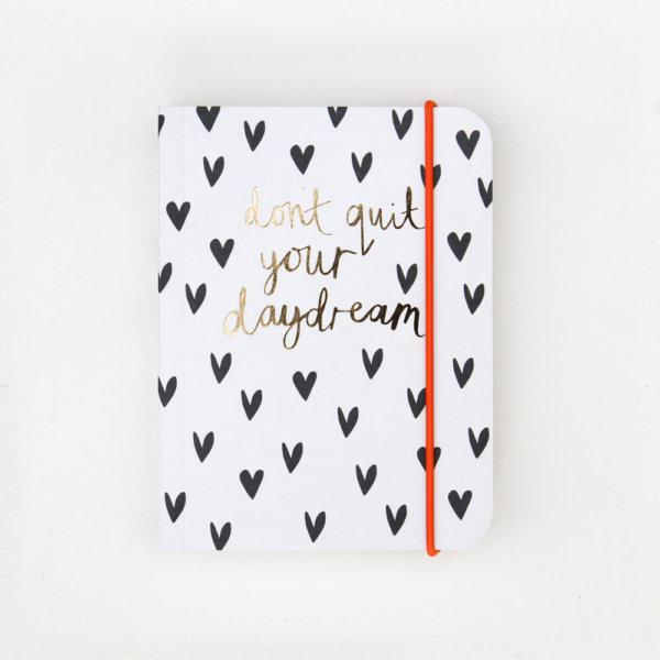 Mini Hearts Small Notebook