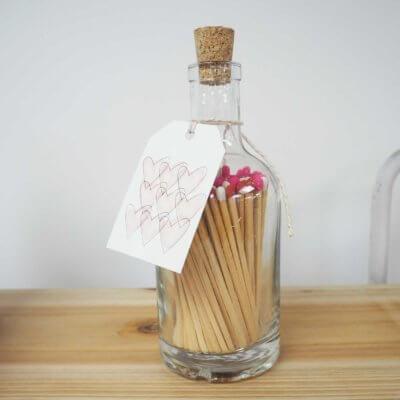 Luxury Matchsticks - Heart