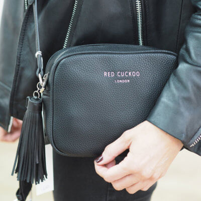 Cross Body Bag Tassel Bag - Black