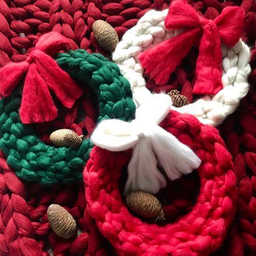 Chunky Wreath Workshop