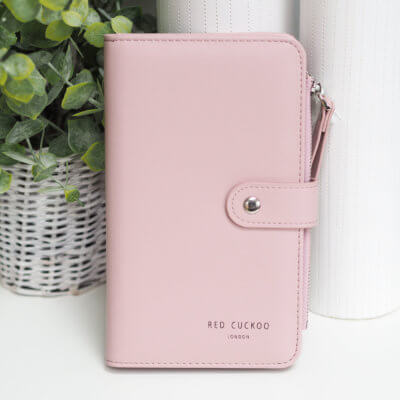 Pink Purse and Document Wallet