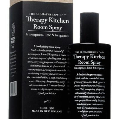 Therapy Kitchen Room Spray – Lemongrass, Lime & Bergamot