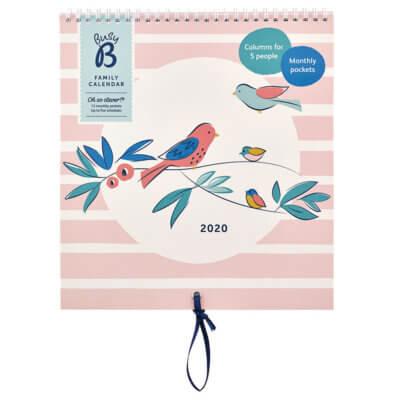 FAMILY CALENDAR - 2020 Birds