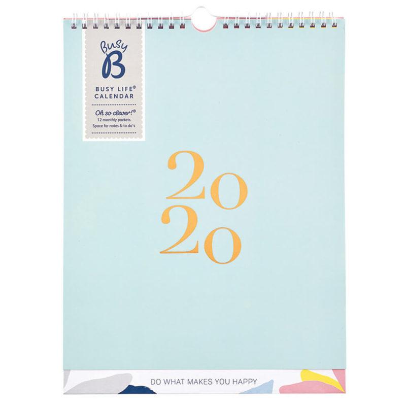 BUSY LIFE CALENDAR 2020