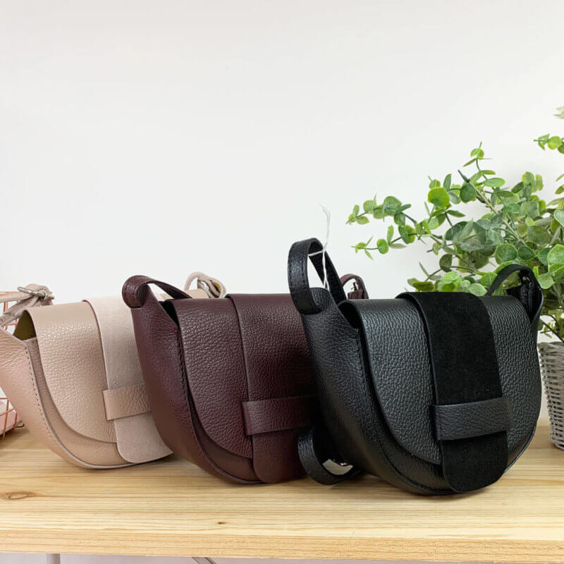 Leather Cross Body Bags