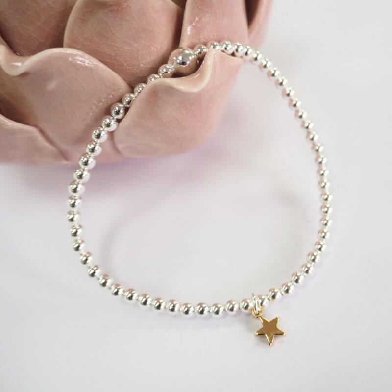 Mini Gold Star Bracelet