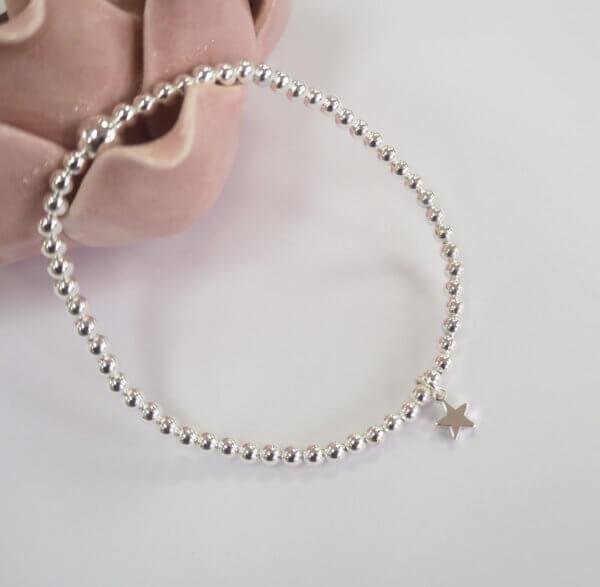 Mini Silver Star Bracelet