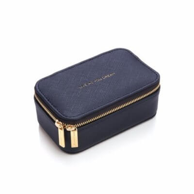 Estella Bartlett - Travel Jewellery Box - Navy