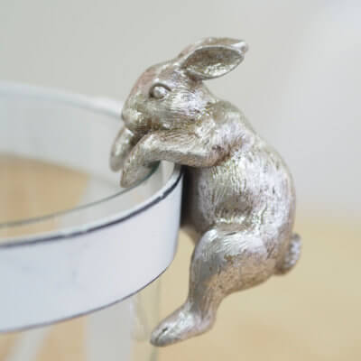 Rabbit pot hanger