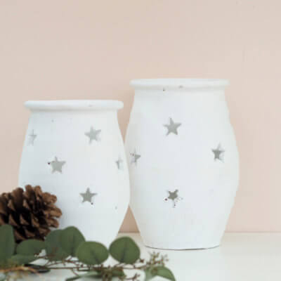 White Star Pot