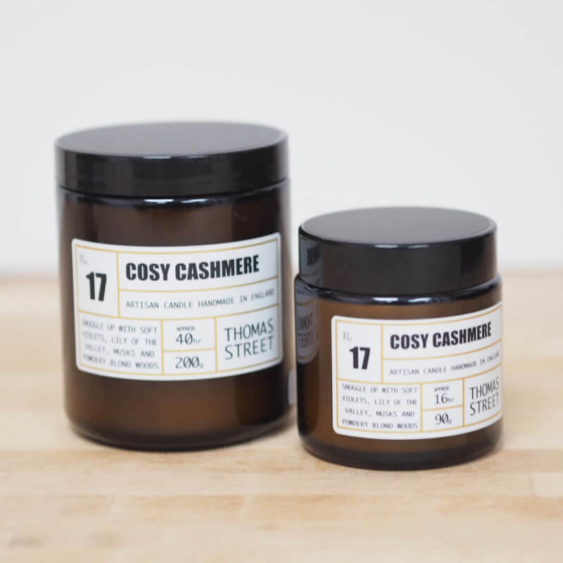 Cosy Cashmere Candle