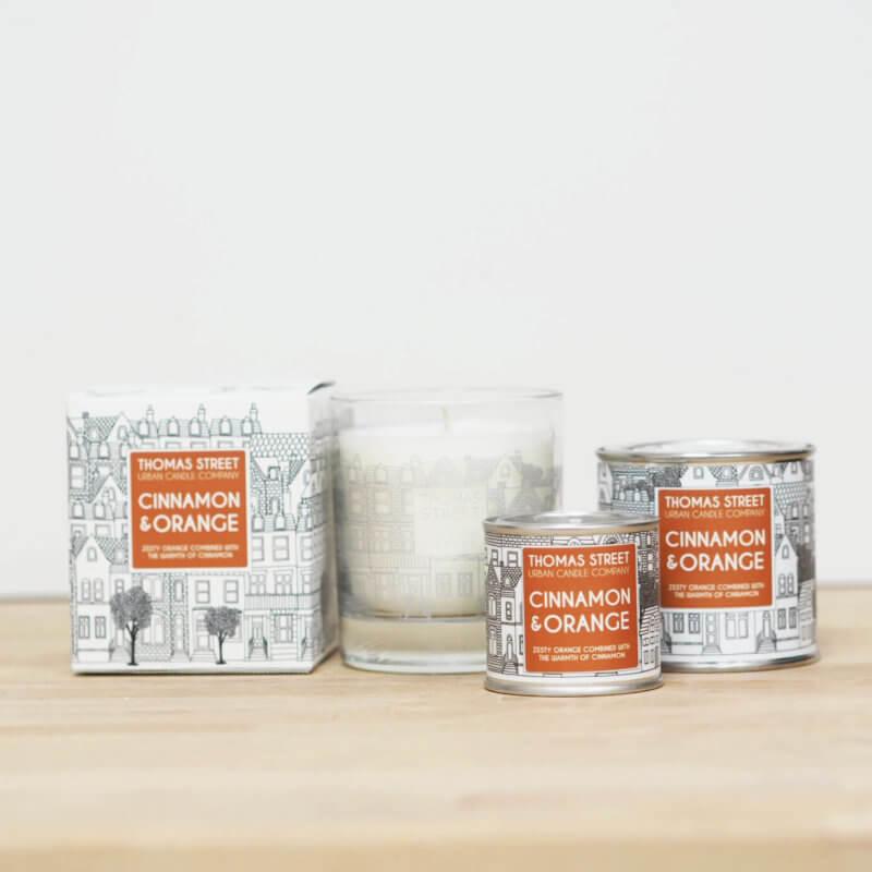 Cinnamon & Orange Candle