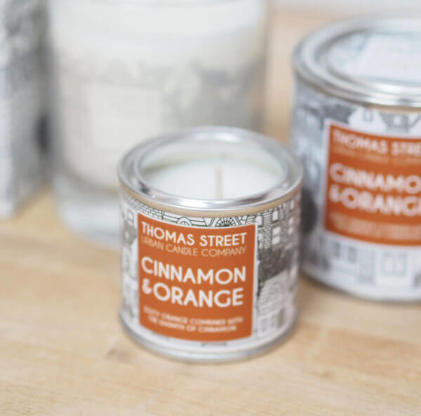 Cinnamon & Orange Candle
