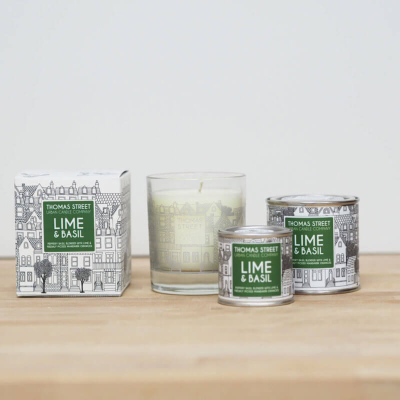 Lime & Basil Candle