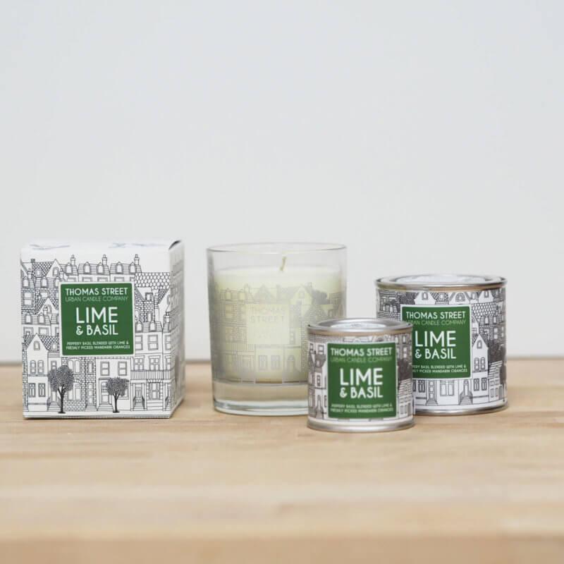 Lime & Basil Candle