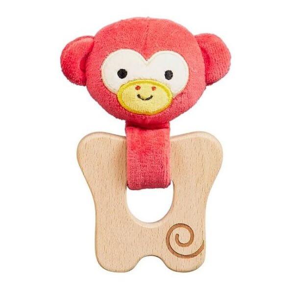 Organic Teether Monkey