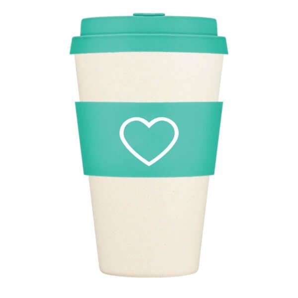 Aqua Re-Usable Coffee Cup