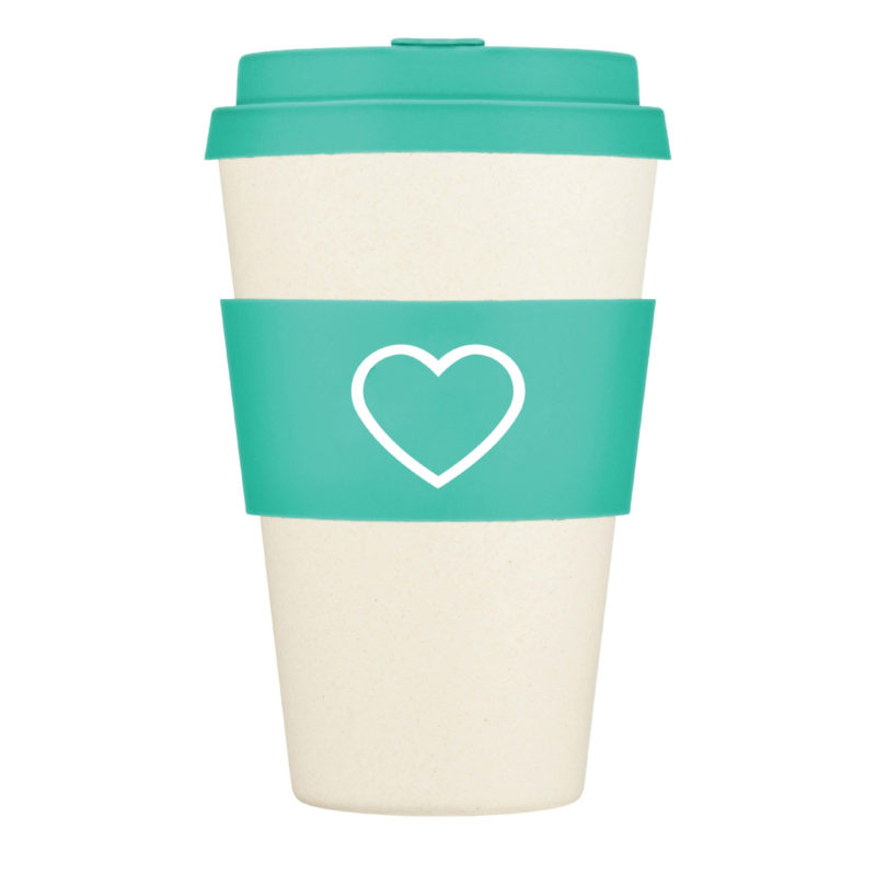 Aqua Re-Usable Coffee Cup