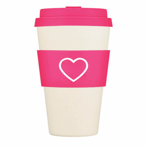 Hot Pink Re-Useable Cup