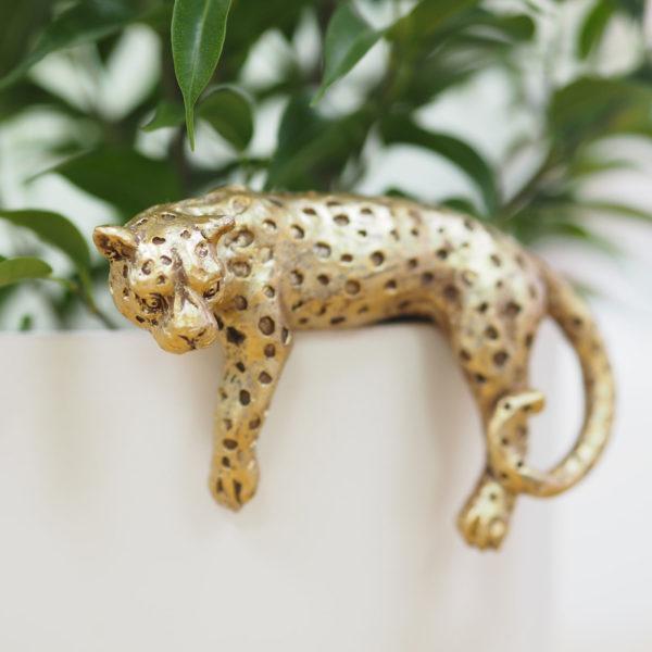 Leopard Pot Hanger
