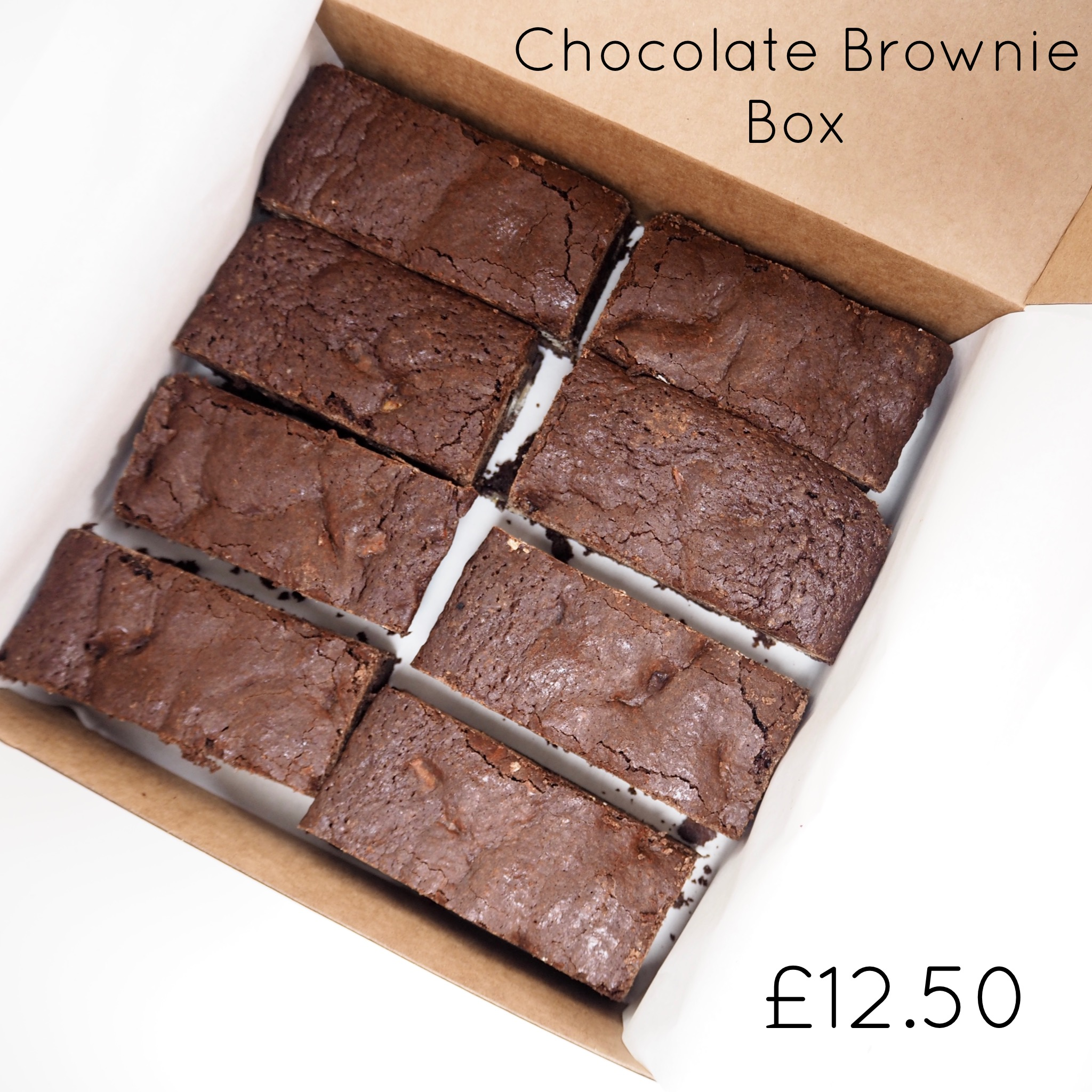 Chocolate Brownie Box