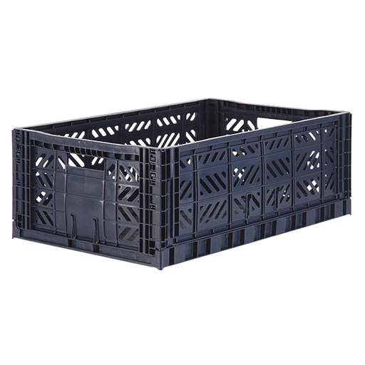 AyKassa folding crate Navy