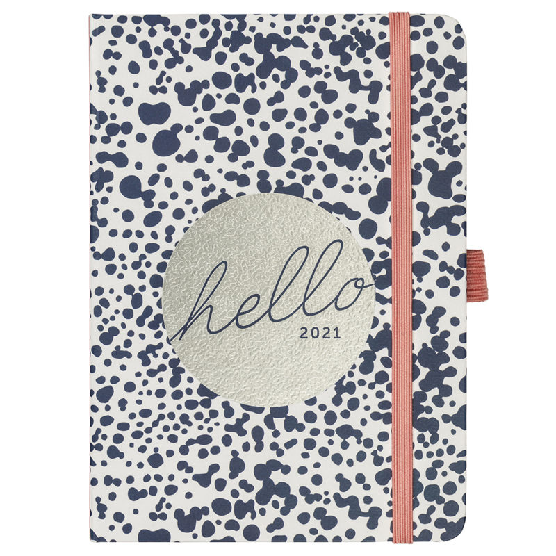 A6 To Do Diary 2021 Navy