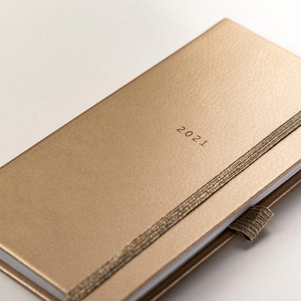 Slim Diary 2021 Rose Gold