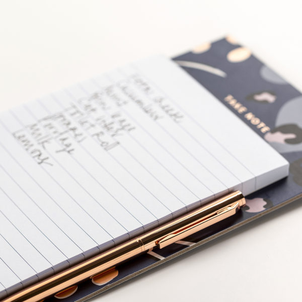 Magnetic Pad & Pen Navy