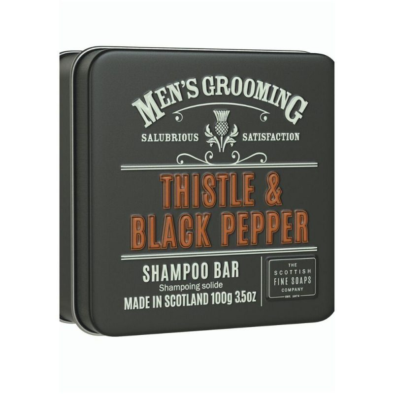 THISTLE & BLACK PEPPER SHAMPOO BAR