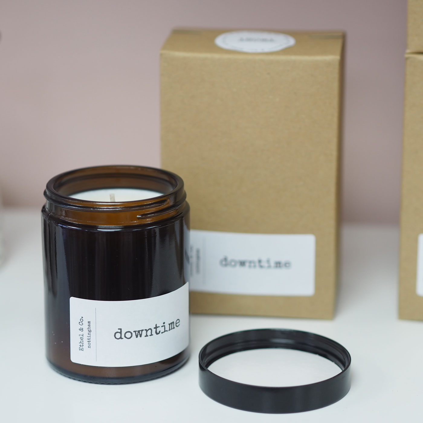 Downtime Candle - Eucalyptus & Peppermint