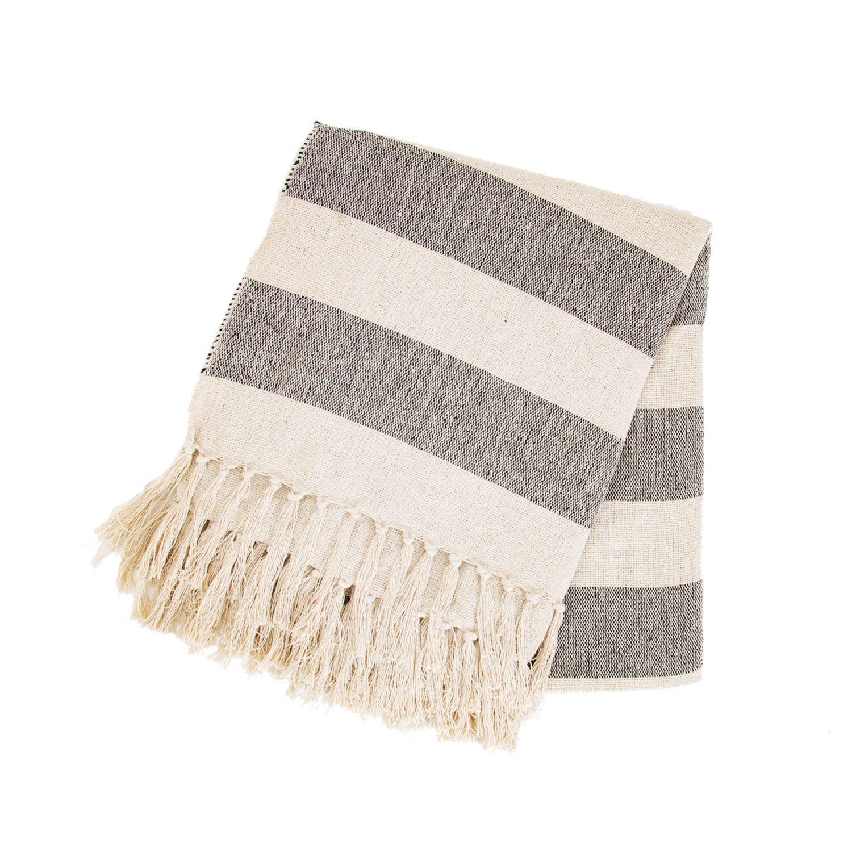 Scandi Striped Blanket