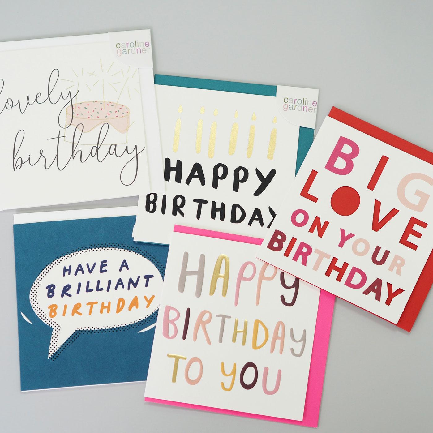 Happy Birthday Card Bundle 1