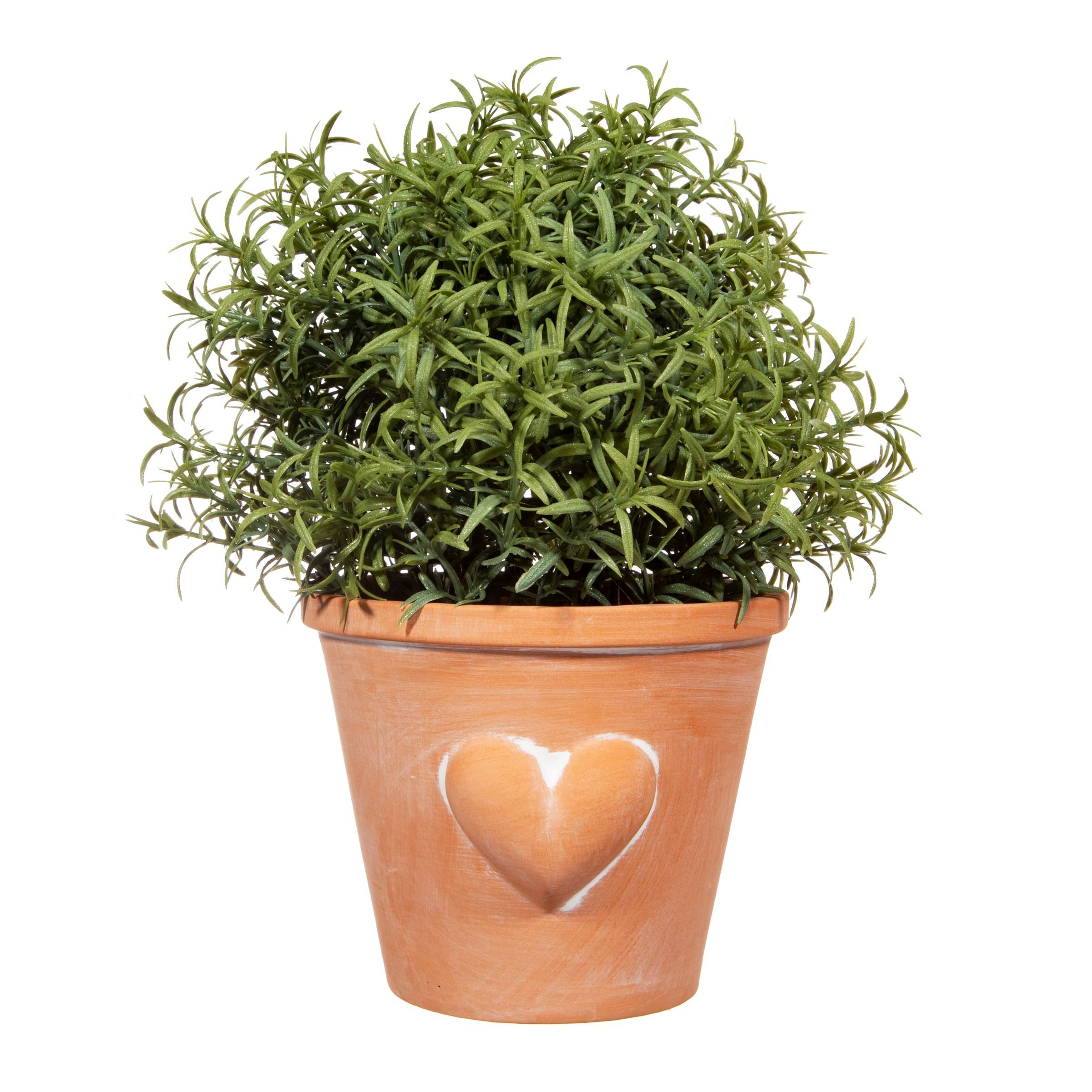 Terracotta Heart Planter