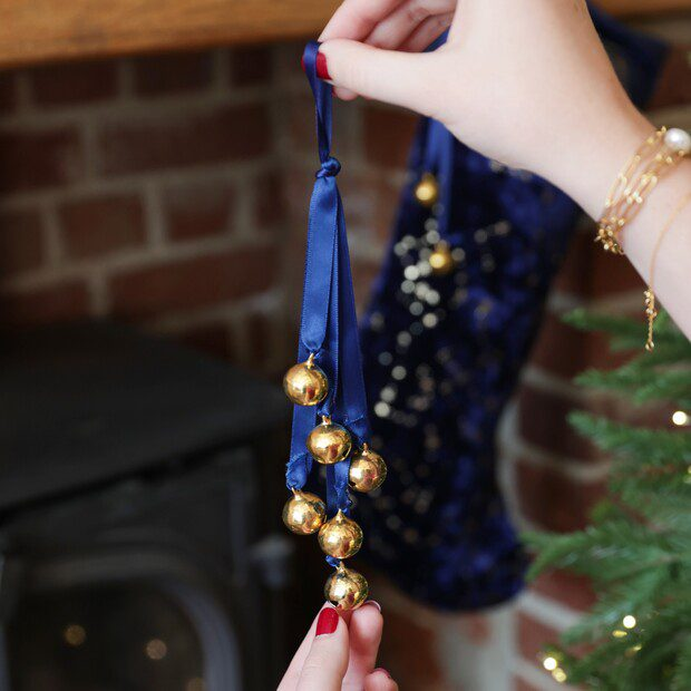 Hanging Sleigh Bells Decoration